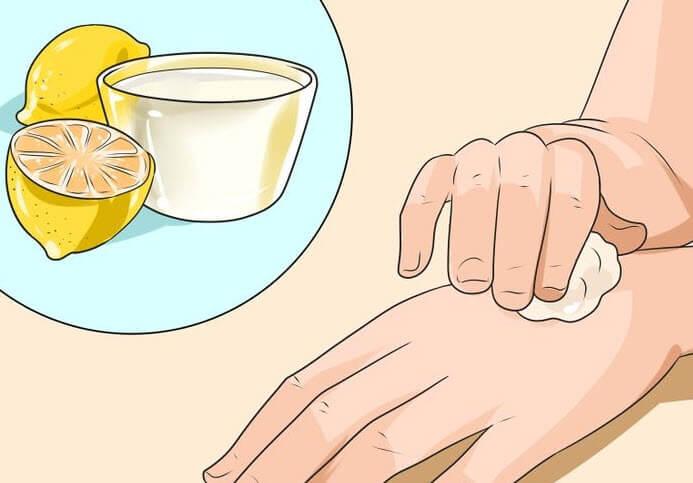 Лимонный водный раствор